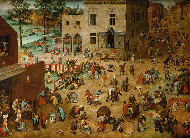 « Les jeux d'enfants », par Pieter Bruegel l'Ancien -
